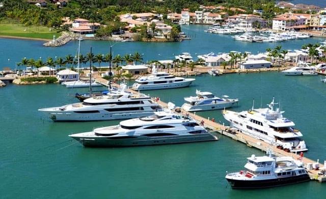Собственная гавань курорта