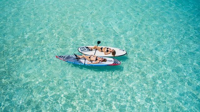 Cпокойные воды Карибского моря