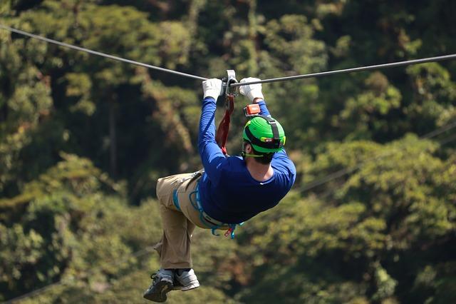 Zip Line в Коста-Рике
