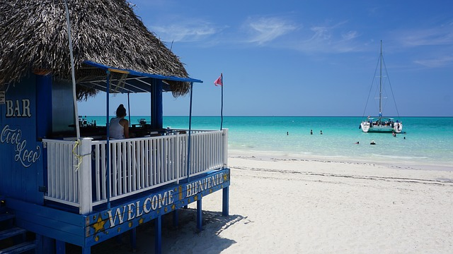 Кубинский остров курорт Cayo Coco