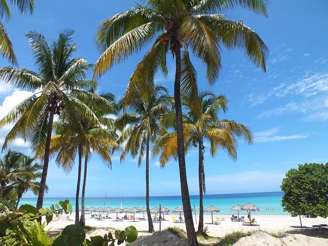 Пляжи курорта Варадеро на Кубе