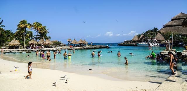 Riviera Maya - курорт на Карибском побережье