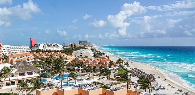 Cancun - курорт на Карибском море