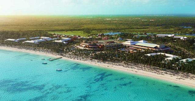Территория отеля Barcelo Dominican Beach Resort 4*