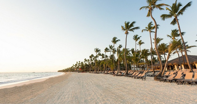Пляж отеля Occidental Punta Cana 4*