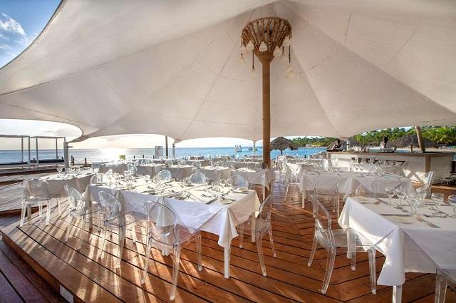 Ресторан в отеле Viva Wyndham Dominicus 4* в La Romana