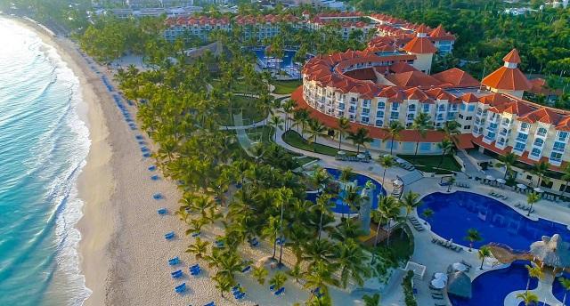 Территория отеля Occidental Caribe 4*