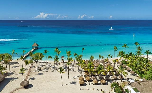 Пляж в отеле Dreams La Romana Resort & Spa 5* в Ла-Романа
