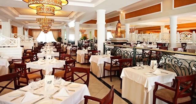 Ресторан в отеле Luxury Bahia Principe Esmeralda 5* в Доминикане