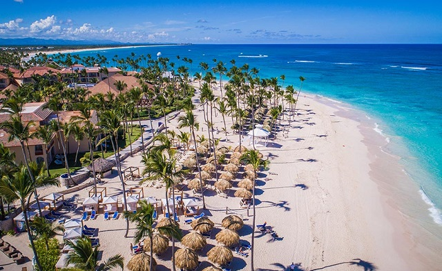 Пляж отеля Majestic Colonial Punta Cana 5*