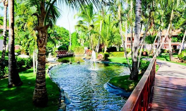 Территория отеля Natura Park Beach Eco Resort & Spa 5* в Пунта Кане