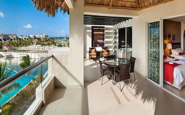 Вид с балкона в отеле Hard Rock Hotel & Casino Punta Cana 5* в Доминикане