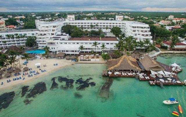 Пляж отеля Be Live Experience Hamaca 4*