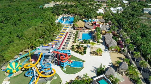Аквапарк в отеле Sirenis Punta Cana Resort Casino & Aquagames 5* в Доминикане