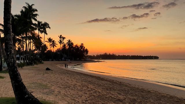 Закат в Доминикане