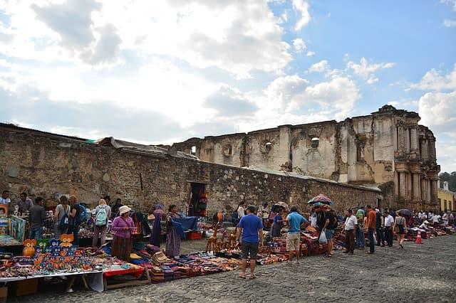 Рынок в Гватемале