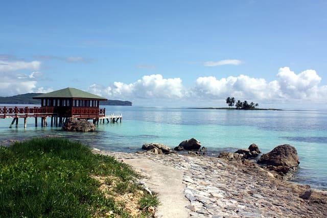 Пляжи полуострова Самана